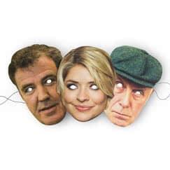 Television Celebrity Face Masks