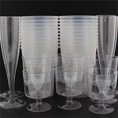 Catering Party Plastic Glasses