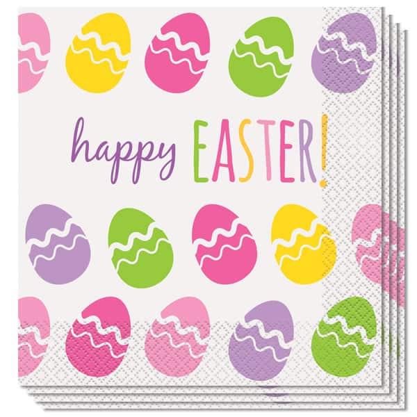 Cute Easter Luncheon Napkins 33cm 2Ply - Pack of 16