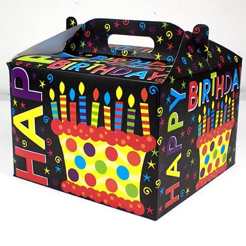 Happy Birthday Carry Handle Balloon Box Product Image