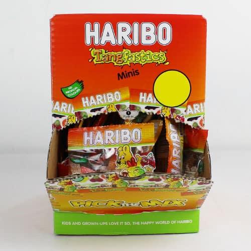 Haribo Fizzy Fun Gums Tangfastics - Box of 100