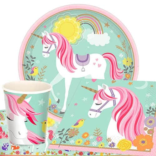 Magical Unicorn 8 Person Value Party Pack