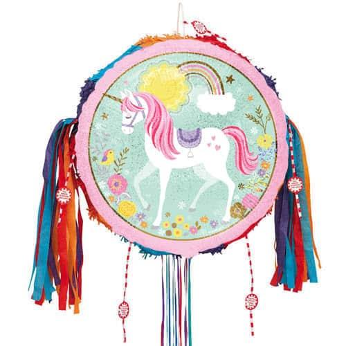 Magical Unicorn Pull String Pinata