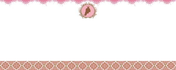Princess Locket Design Small Personalised Banner - 4ft x 2ft