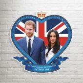 Royal Wedding Prince Harry And Meghan Markle Wall Art Cutout 62cm