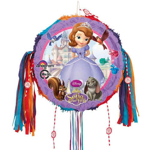 Sofia The First Pull String Pinata