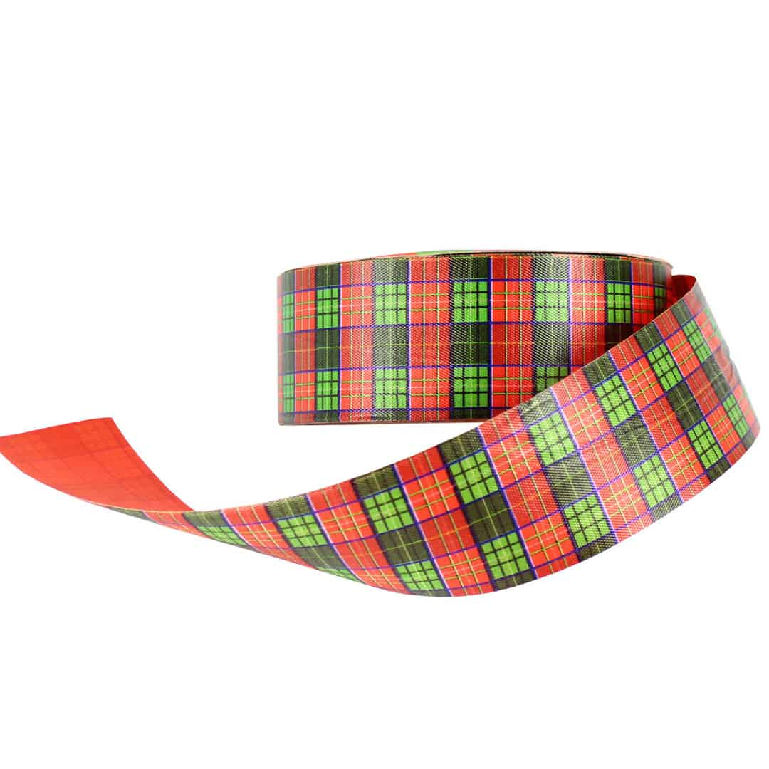 Tartan Waterproof Premium Poly Ribbon 50m