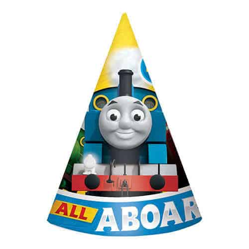 Thomas And Friends Cone Party Hats - Pack of 8