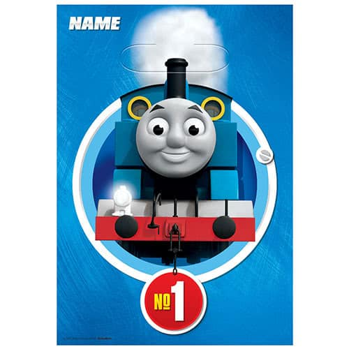 Thomas And Friends Loot Bags - Pack of 8