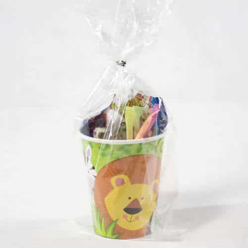 Animal Jungle Toy And Candy Cup