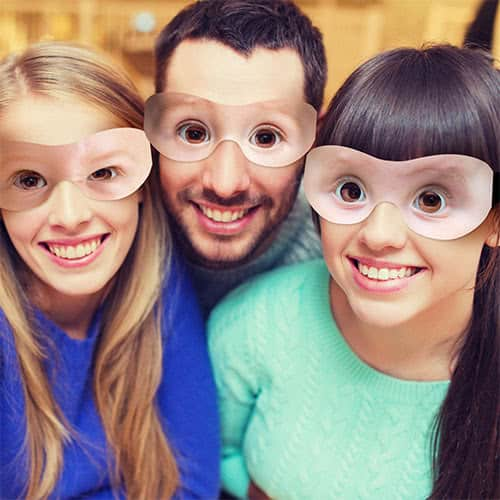 Baby Goggle Eyes Cardboard Photo Props - Pack of 10 Product Gallery Image