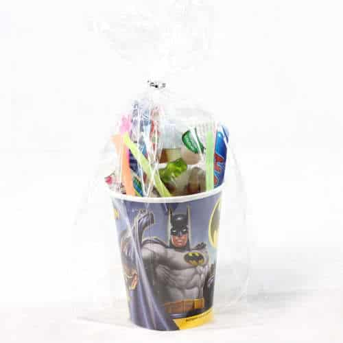 Batman Toy And Candy Cup