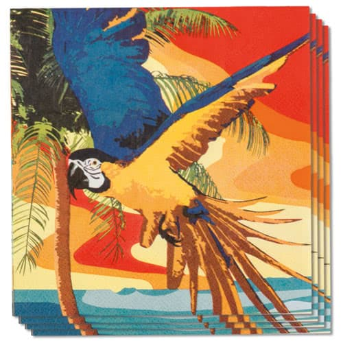 Beach Party Luncheon Napkins 33cm 2Ply - Pack of 12 Gallery Image