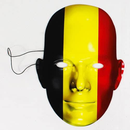 Belgium Flag Face Mask