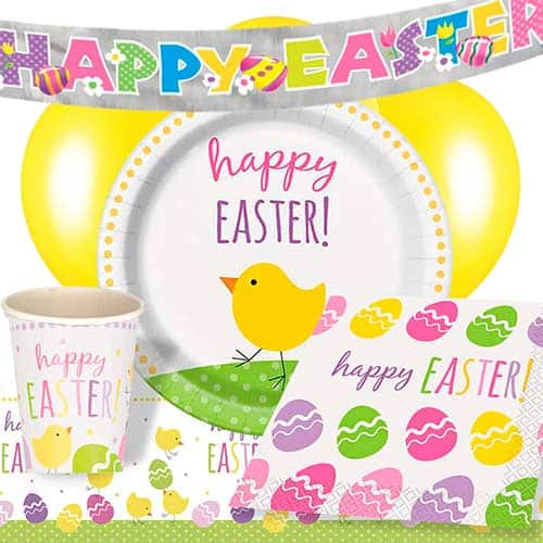 Cute Easter 8 Person Deluxe Party Pack