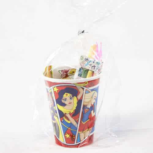 DC Super Hero Girls Toy And Candy Cup