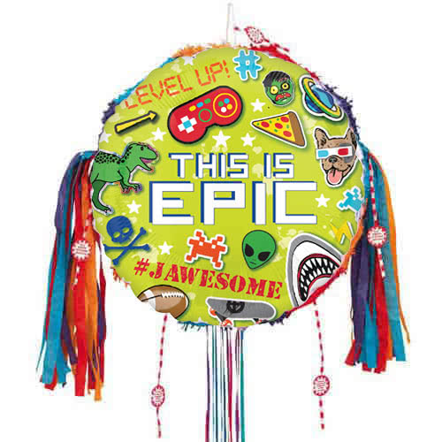 Epic Party Pull String Pinata