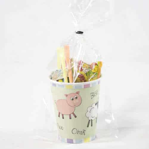 Farm Animals Toy And Candy Cup