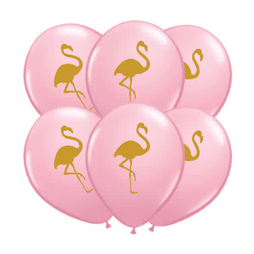Flamingo Pink Latex Helium Qualatex Balloons 28cm / 11Inch - Pack of 25 Product Gallery Image