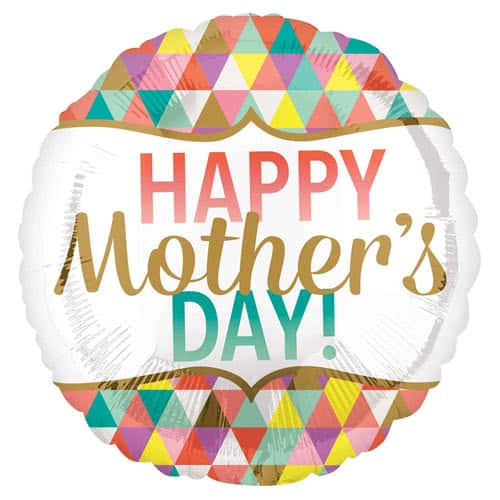 happy-mother's-day-geometric-helium-foil-balloon-43cm-17inch-product-image