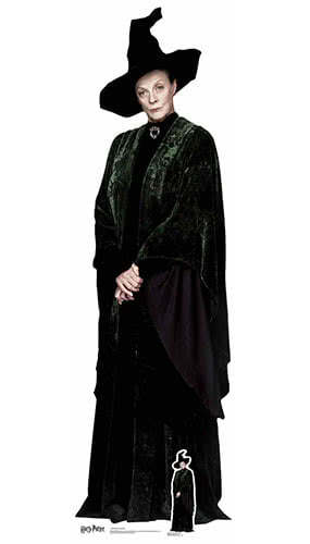 Harry Potter Professor McGonagall Lifesize Cardboard Cutout 189cm Product Gallery Image