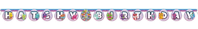 Hatchimals Cardboard Jointed Banner 198cm