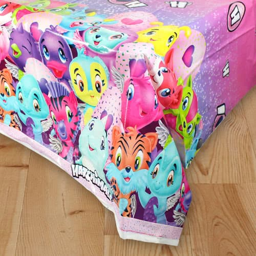 Hatchimals Plastic Tablecover 213cm x 137cm