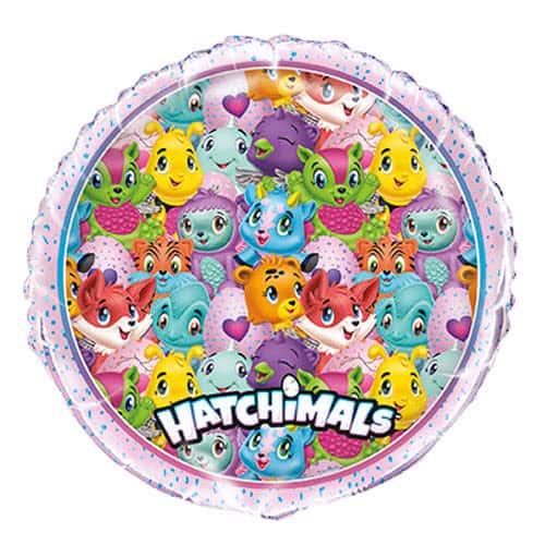 Hatchimals Round Foil Helium Balloon 46cm / 18Inch