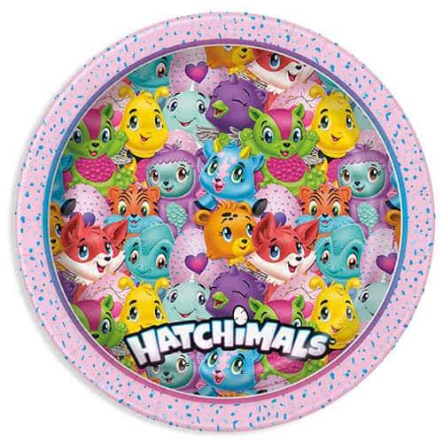 Hatchimals Round Paper Plate 22cm