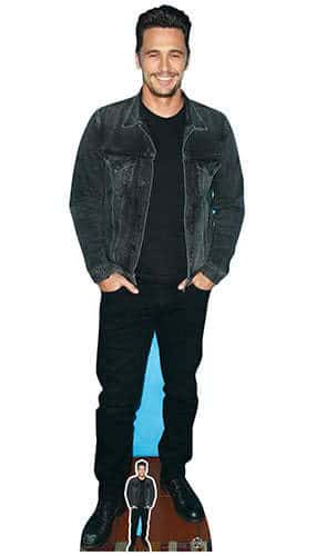 James Franco Lifesize Cardboard Cutout 182cm Product Gallery Image