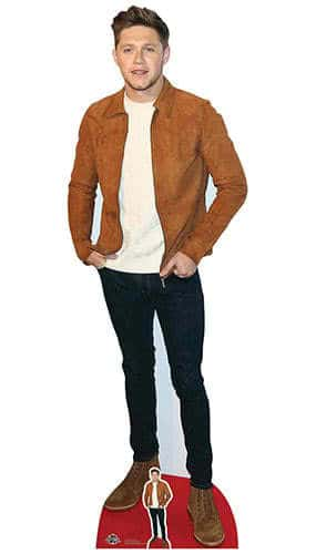 Niall Horan Suede Jacket Lifesize Cardboard Cutout 184cm Product Gallery Image