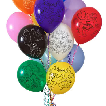 Printed Latex Balloons Category Image