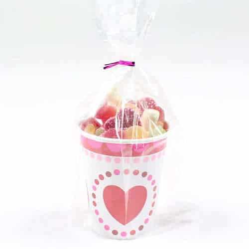 Radiant Hearts Candy Cup