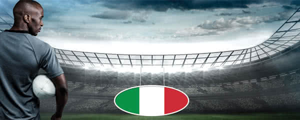 Rugby Italy Flag Design Small Personalised Banner – 4ft x 2ft