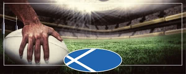 Rugby Scotland Flag Design Small Personalised Banner – 4ft x 2ft
