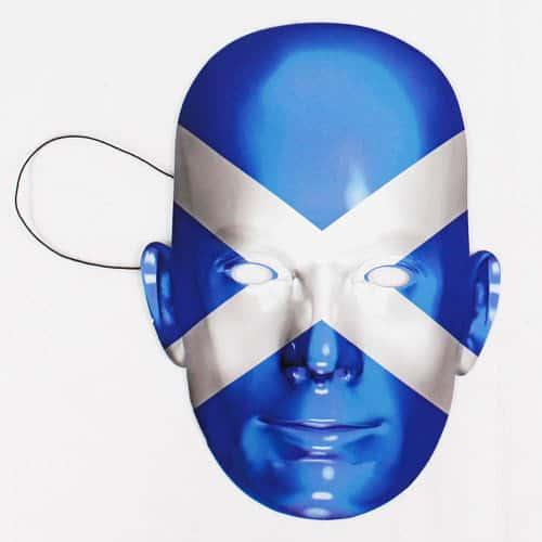 Scotland Flag Face Mask Product Image