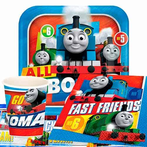 Thomas And Friends 8 Person Value Party Pack
