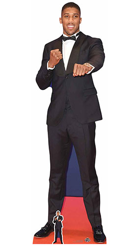 Anthony Joshua Lifesize Cardboard Cutout 191cm Product Gallery Image