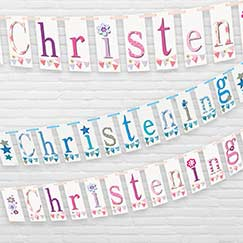 Christening Banners