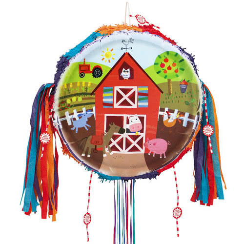 Farm Friends Party Pull String Pinata Product Image