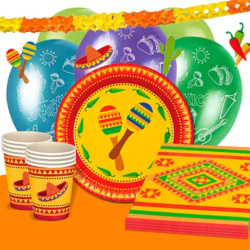 Fiesta 12 Person Deluxe Party Pack