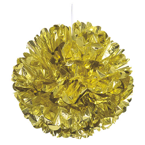 gold-foil-honeycomb-hanging-decoration-puff-ball-40cm-product-image