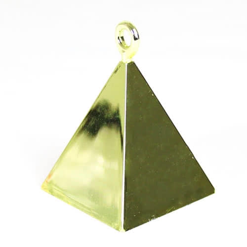 Gold Pyramid Balloon Weight Product Image