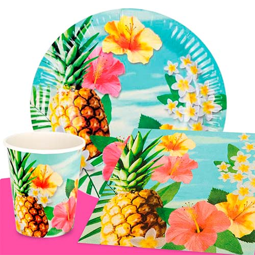 Hawaii Paradise 6 Person Value Party Pack
