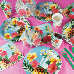 Hawaii Paradise Party Supplies