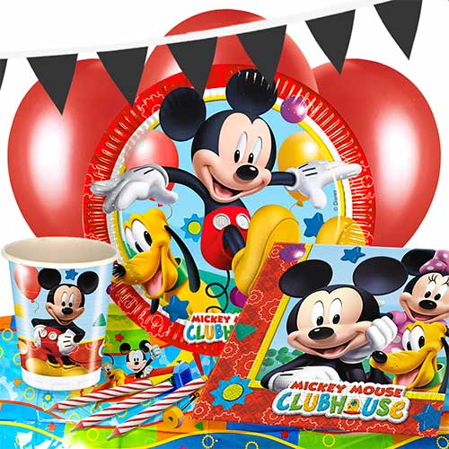 Mickey Mouse Clubhouse 8 Person Deluxe Party Pack