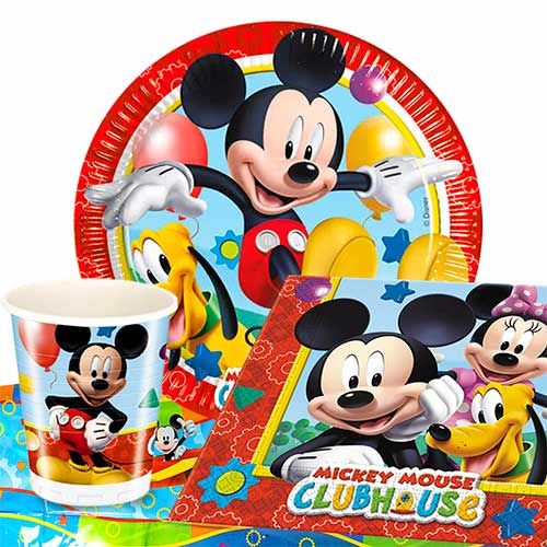 Mickey Mouse Clubhouse 8 Person Value Party Pack