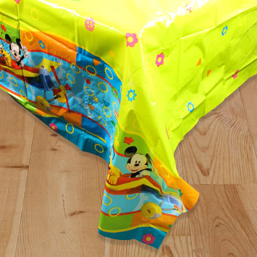 Mickey Mouse Clubhouse Plastic Tablecover 180cm x 120cm