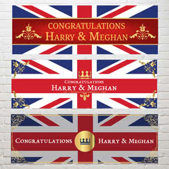 Royal Wedding Party Signs