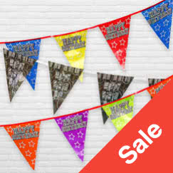 Banners & Buntings Sale and Clearance
